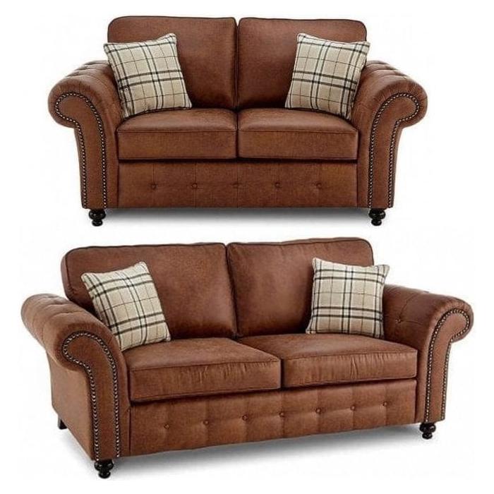Woodford Tan Suede 3 2 Seater Sofa Set, Sofa Set Photos